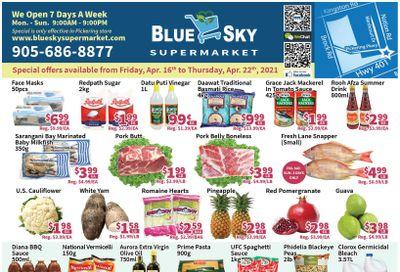 Blue Sky Supermarket (Pickering) Flyer April 16 to 22