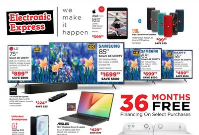 Electronic Express Weekly Ad Flyer April 18 to April 24