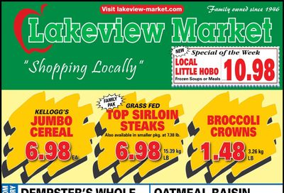 Lakeview Market Flyer April 19 to 25