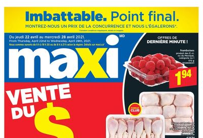Maxi Flyer April 22 to 28