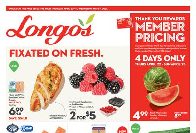 Longo's Flyer April 22 to May 5