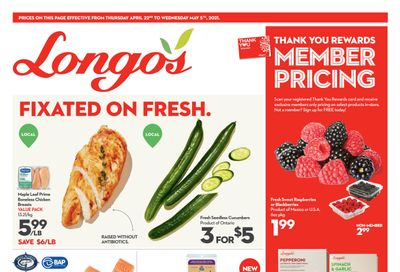 Longo's (Ancaster & Liberty Village) Flyer April 22 to May 5