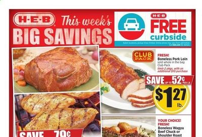 H-E-B (TX) Weekly Ad Flyer April 21 to April 27