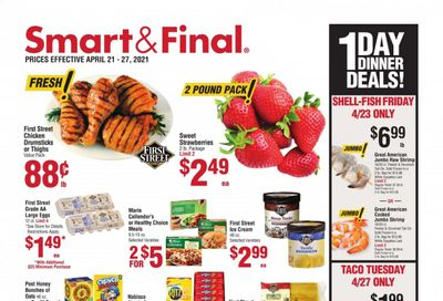 Smart & Final (AZ, CA, NV) Weekly Ad Flyer April 21 to April 27