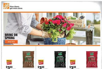 The Home Depot Weekly Ad Flyer April 19 to April 29
