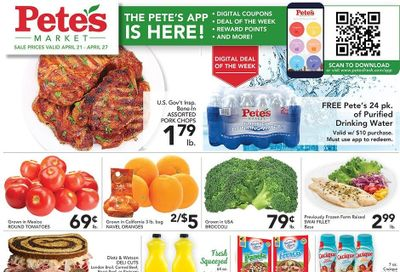 Pete's Fresh Market (IL) Weekly Ad Flyer April 21 to April 27