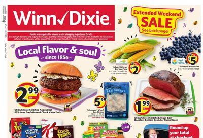 Winn Dixie (AL, FL, GA, LA, MS) Weekly Ad Flyer April 21 to April 27