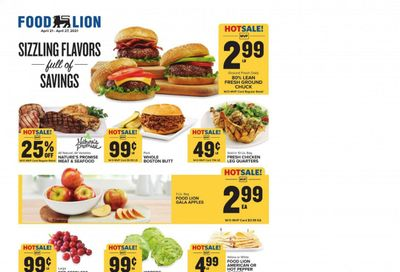 Food Lion (NC) Weekly Ad Flyer April 21 to April 27