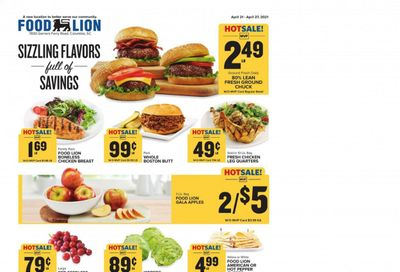Food Lion (SC) Weekly Ad Flyer April 21 to April 27