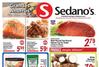 Sedano's (FL) Weekly Ad Flyer April 21 to April 27