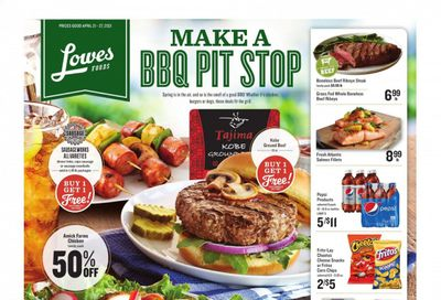 Lowes Foods Weekly Ad Flyer April 21 to April 27