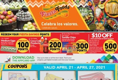 Fiesta Foods SuperMarkets Weekly Ad Flyer April 21 to April 27