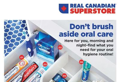 Real Canadian Superstore (ON) Oral Care Flyer April 8 to 21