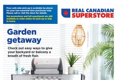 Real Canadian Superstore (ON) Outdoor Living Flyer April 22 to June 2