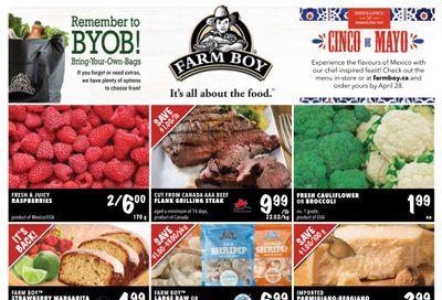 Farm Boy Flyer April 22 to 28