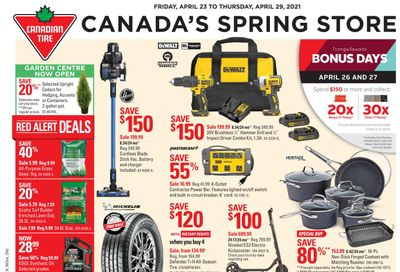 Canadian Tire (ON) Flyer April 23 to 29