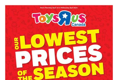 Toys R Us Flyer April 22 to 28