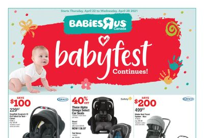 Babies R Us Flyer April 22 to 28