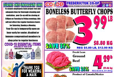 Fredericton Co-op Flyer April 22 to 28