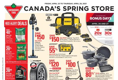 Canadian Tire (West) Flyer April 23 to 29
