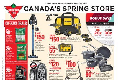 Canadian Tire (Atlantic) Flyer April 23 to 29