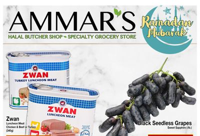 Ammar's Halal Meats Flyer April 22 to 28