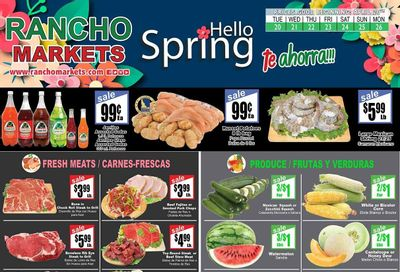 Rancho Markets Weekly Ad Flyer April 20 to April 26