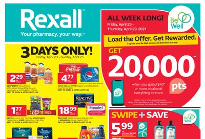 Rexall (West) Flyer April 23 to 29