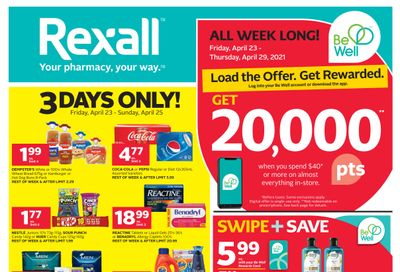 Rexall (ON) Flyer April 23 to 29