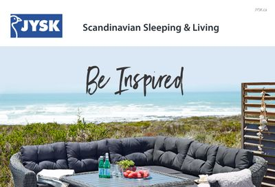 JYSK (ON & Atlantic) Summer Catalogue April 22 to August 12
