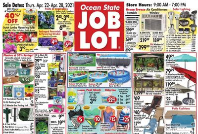 Ocean State Job Lot Weekly Ad Flyer April 22 to April 28