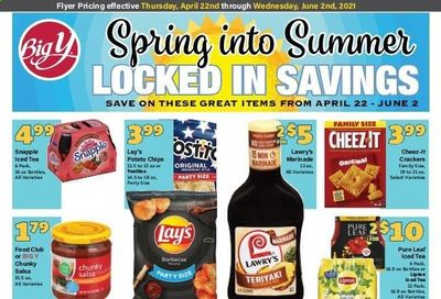 Big Y (CT, MA) Weekly Ad Flyer April 22 to June 2