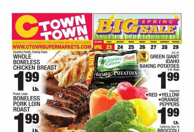 C-Town Weekly Ad Flyer April 23 to April 29
