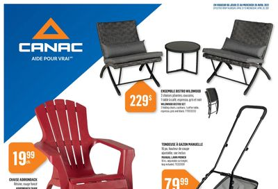 Canac Flyer April 22 to 28