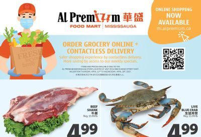 Al Premium Food Mart (Mississauga) Flyer April 22 to 28