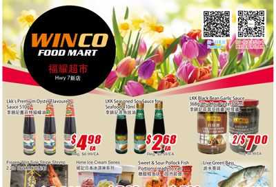 WinCo Food Mart (HWY 7) Flyer April 22 to 28