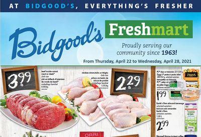 Bidgood's Flyer April 22 to 28
