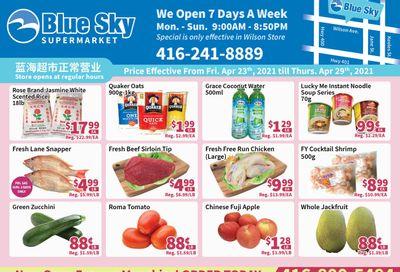 Blue Sky Supermarket (North York) Flyer April 23 to 29