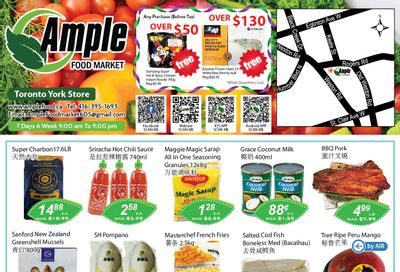 Ample Food Market (North York) Flyer April 23 to 29
