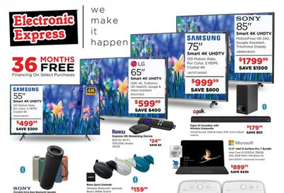 Electronic Express Weekly Ad Flyer April 25 to May 1