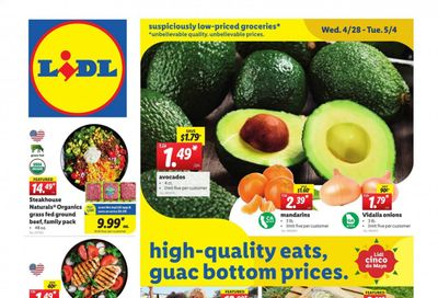 Lidl Weekly Ad Flyer April 28 to May 4