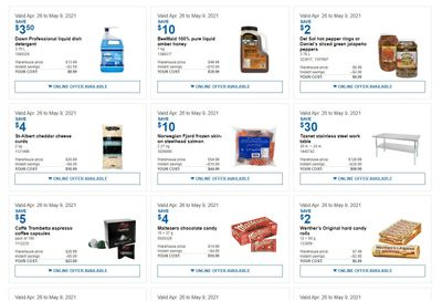 Costco Business Centre Instant Savings Flyer April 26 to May 9