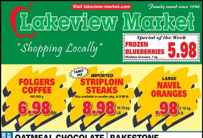 Lakeview Market Flyer April 26 to May 2