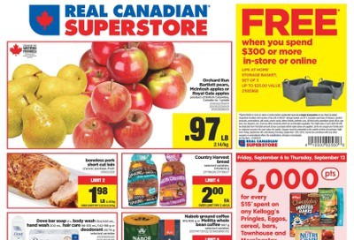 Real Canadian Superstore (West) Flyer September 6 to 12