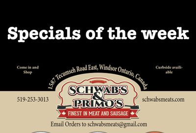 Schwab's & Primo's Flyer April 27 to May 1