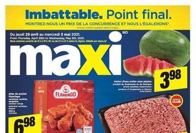 Maxi Flyer April 29 to May 5