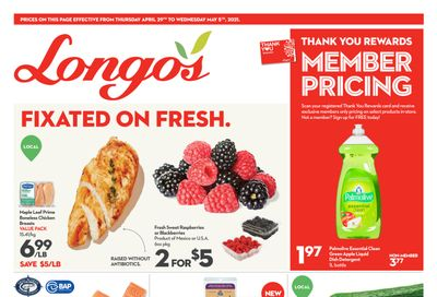 Longo's Flyer April 29 to May 5