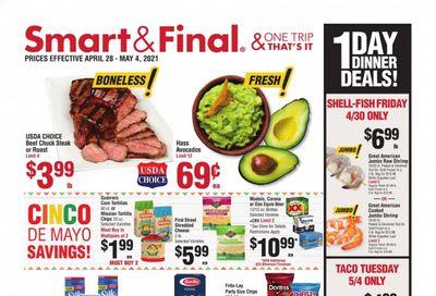Smart & Final (AZ, CA, NV) Weekly Ad Flyer April 28 to May 4