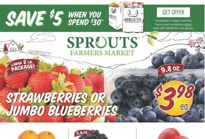Sprouts Weekly Ad Flyer April 28 to May 4