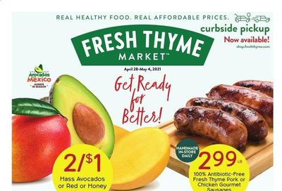 Fresh Thyme Weekly Ad Flyer April 28 to May 4